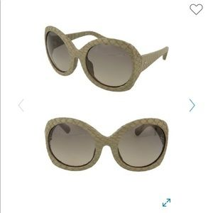 Linda Farrow 60mm Novelty Sunglasses